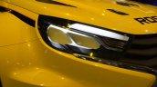 Lada Vesta WTCC concept headlamps at the 2014 Moscow Motor Show