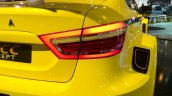 Lada Vesta WTCC concept taillight at the 2014 Moscow Motor Show
