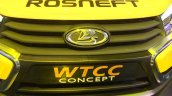 Lada Vesta front WTCC concept at the 2014 Moscow Motor Show