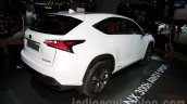 Lexus NX 300h at the 2014 Moscow Motor Show rear quarter