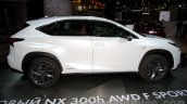 Lexus NX 300h at the 2014 Moscow Motor Show side