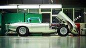 Lightweight Jaguar E-Type press image at Browns Lane facility