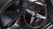 Lightweight Jaguar E-Type press image dashboard