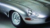Lightweight Jaguar E-Type press image headlamps