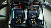Lightweight Jaguar E-Type press image interior top view