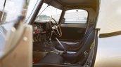 Lightweight Jaguar E-Type press image interior