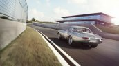 Lightweight Jaguar E-Type press image rear