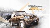Mahindra Bolero Camper Gold VX front three quarter