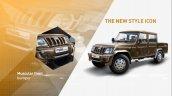Mahindra Bolero Camper Gold VX front