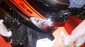 Mahindra Rodeo UZO 125 spied seat