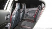 Mercedes GLA 45 AMG rear seat at the Moscow Motor Show 2014