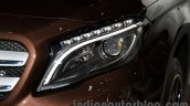 Mercedes GLA headlamp at the Moscow Motorshow 2014