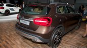 Mercedes GLA rear right three quarter at the Moscow Motorshow 2014