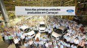 New Ford Ka production start press shot