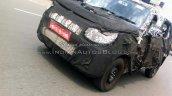 New Mahindra U301 Bolero spied front quarter