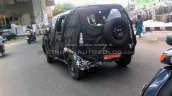 New Mahindra U301 Bolero spied rear