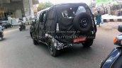 New Mahindra U301 Bolero spied rear