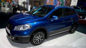 New Suzuki SX4 at the 2014 Moscow Motor Show front quarter