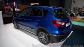 New Suzuki SX4 at the 2014 Moscow Motor Show rear quarter