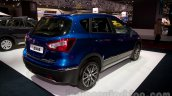New Suzuki SX4 at the 2014 Moscow Motor Show rear three quarters