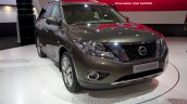 Nissan Pathfinder at the 2014 Moscow Motor Show front quarter