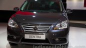 Nissan Sentra at the 2014 Moscow Motor Show front