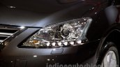 Nissan Sentra at the 2014 Moscow Motor Show headlight