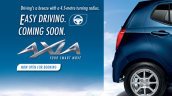 Perodua Axia teaser rear door