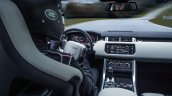 Range Rover Sport SVR press image interior