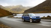 Range Rover Sport SVR press image left front three quarters