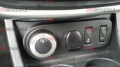 Renault Duster 4WD spied controls