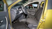 Renault Sandero Stepway front seats at Moscow Motor Show 2014