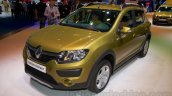 Renault Sandero Stepway front three quarters at Moscow Motor Show 2014