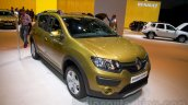 Renault Sandero Stepway front three quarters left at Moscow Motor Show 2014