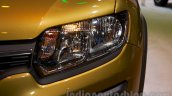 Renault Sandero Stepway headlight at Moscow Motor Show 2014