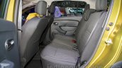 Renault Sandero Stepway rear seat at Moscow Motor Show 2014