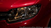 Renault Sandero headlamp at Moscow Motor Show 2014