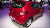 Renault Sandero rear three quarters right at Moscow Motor Show 2014