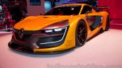 Renaultsport R.S. 01 at the 2014 Moscow Motor Show front quarter