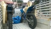 Sherco 4.5i spotted in India for TVS-BMW JV benchmarking rear