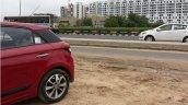 Spied 2015 Hyundai Elite i20 pillar