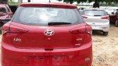 Spied 2015 Hyundai Elite i20 rear
