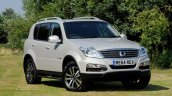Ssangyong Rexton W 60 th Anniversary Special Edition front