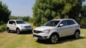 Ssangyong Rexton W and Korando 60 th Anniversary Special Edition