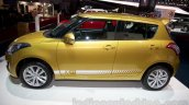 Suzuki Swift facelift side at the 2014 Moscow Motor Show