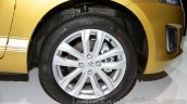 Suzuki Swift facelift wheel at the 2014 Moscow Motor Show