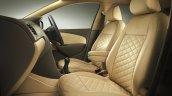 VW Vento Konekt press shot leather seat cover