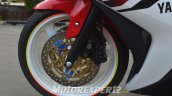 Yamaha R25 modified in Indonesia dual front discs