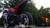 Yamaha R25 modified in Indonesia rear three quarter