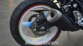 Yamaha R25 modified in Indonesia rear wheel